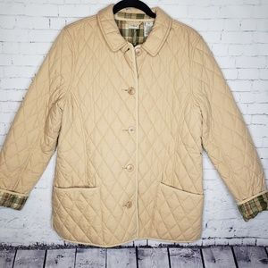 EUC Large L.L Bean Puffer Quilted Jacket Coat